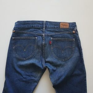 Levis skinny jeans 13m mid-rise